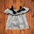 PAOLA BIMBI bata branca laço marinho G 18 meses - Imagem 1