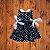 FLOQUINHO vestido viscose pois marinho 1 ano - Imagem 1