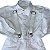 BABIES conjunto bermuda suspensório + camisa social branca c gravatinha 1 ano  ( pequenas manchas) - Imagem 2
