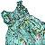 Vestido casinha de abelha verde flores do campo 1 ano  - Imagem 3