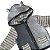 BABY GAP casaco tricô de linha tons cinza com capuz orelhas 24 meses  - Imagem 2