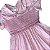 Vestido algodão rosa casinha de abelha 1 ano  - Imagem 2