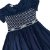 ANNE & CO vestido algodão marinho casinha de abelha c pérolas 2 anos - Imagem 2