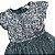 ZARA vestido cinza- verde paetês e tule 9-10 anos  - Imagem 2