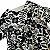FÁBULA vestido algodão offwhite estp preta 8 anos - Imagem 2