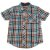 GYMBOREE camisa social xadrez turquesa e vermelho mg curta 3 anos  - Imagem 1