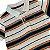 TOMMY HILFIGER camisa polo branca listras arco íris 4 anos - Imagem 2