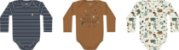 Combo Body Curto + Body Longo + Calça Bebê Masc - Kiko Baby - Imagem 5