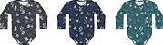 Combo Espaço 2 Bodys + Calça Bebê Masc - Kiko Baby - Imagem 4