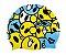 Touca p/ Natação Infantil Kun Face Amarelo  - Arena - Imagem 1