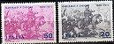 1970 Itália - Série 100 anos da participação de G Garibaldi na Batalha Franco-prussiana  - Imagem 1