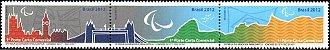 2012/2015 Série Entrega da Bandeira Paralímpica (min) Series paralympic flag Delivery - Imagem 1