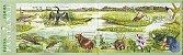 2001 Série Fauna e Flora de Pantanal (auto-adesivo) Mint - Imagem 1