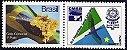 2013 Selo Personalizado CMSB XLII Assembléia Geral Ordinária da Maçonaria do Brasil - MT - Imagem 1