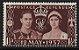1937 Inglaterra Rei Jorge VI - Grao Mestre da Grande Loja Unida  - Imagem 1