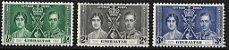 1937 Gilbraltar Rei George VI - Coroação - Grão Mestre da Grande Loja Unida da Inglaterra - Imagem 1