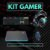 Kit Gamer Teclado Mouse MousePad Headset USB P2 Philips Exbom - Imagem 1