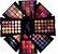 Estojo de Maquiagem Luisance Completo Pó Blush Sombra Batom - Imagem 2