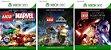 Lego Marvel super Heroes + Lego Jurassic World + Lego Star Wars o Despertar da Força Game Digital Original Xbox Live - Imagem 1