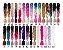 Cabelo Sintético Jumbo X-Pression Kanekalon Para Tranças Afro 60 cm 100g - Imagem 3