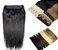 Mega Hair Tic Tac Cabelo Humano 1 peça 50cm até 55cm 100g até 160g - Imagem 1