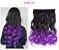 Aplique de Cabelo Orgânico Tic Tac Ombre Hair Ondulado 1 peça 60 cm 130g - Imagem 3