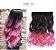 Aplique de Cabelo Orgânico Tic Tac Ombre Hair Ondulado 1 peça 60 cm 130g - Imagem 4