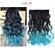 Aplique de Cabelo Orgânico Tic Tac Ombre Hair Ondulado 1 peça 60 cm 130g - Imagem 5
