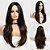 Peruca Longa Fibra Orgânica Ombre Hair Sem Franja - Imagem 1