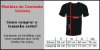Camiseta Masculina Lobo Tribal Tattoo Cinza - Personalizadas/ Customizadas/ Estampadas/ Camiseteria/ Estamparia/ Estampar/ Personalizar/ Customizar/ Criar/ Camisa Blusas Baratas Modelos Legais Loja Online - Imagem 3