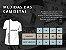 Camisa Masculina Life Style Camiseta Branca Manga Curta Triathlon Bike Pulsação   - Imagem 3