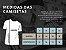 Camiseta Masculina Branca Fusca Clube Carro Antigo Clássico Wolksvagem - Imagem 3