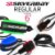 Leash Surf SILVERBAY ECONOMY REGULAR 6' 6mm - Preto/Azul - Imagem 2