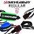 Leash Surf SILVERBAY ECONOMY REGULAR 6' 6mm - Preto/Laranja - Imagem 2