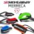 Leash Surf SILVERBAY ECONOMY MERRECA 5'5 4mm - Preto/Laranja - Imagem 2