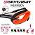 Leash Surf SILVERBAY ECONOMY MERRECA 5'5 4mm - Preto/Laranja - Imagem 4