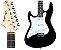 Guitarra Strinberg EGS216 LH / Stratocaster / Preta / Canhoto - Imagem 1