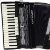 Acordeon Cadenza CD80/37 80 Baixos Preto c/ Case - Imagem 2