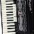 Acordeon Cadenza CD80/37 80 Baixos Preto c/ Case - Imagem 5