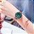 Relógios Shengke Dourado fundo Azul e Verde Feminino - Imagem 3