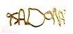 Colar escrita infantil personalizado semijoia  - Imagem 4