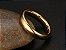 Aliança de Tungstênio 4mm, super resistente folheada a ouro 18k - Imagem 2