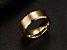 Linda aliança de tungstênio não arranha 8mm, folheada a ouro 18k - Imagem 2