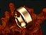 Linda aliança de tungstênio não arranha 8mm, folheada a ouro 18k - Imagem 5