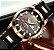 Relógio masculino esportivo Megalith detalhe dourado barato em promoção - Imagem 9