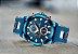 Relógio masculino esportivo Megalith detalhe dourado barato em promoção - Imagem 7
