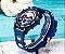 Relógio masculino esportivo Megalith detalhe dourado barato em promoção - Imagem 10