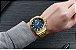 Relógio masculino dourado esportivo  Megir  - Imagem 2