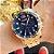 Relógio masculino dourado esportivo  Megir Cronometro - Imagem 2