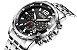 Relógio masculino dourado esportivo  Megir Cronometro - Imagem 7